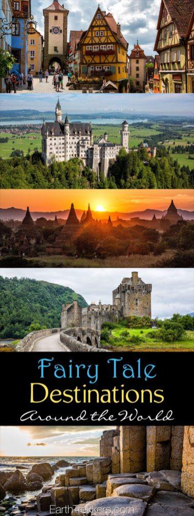Fairytale Destinations around the world travel
