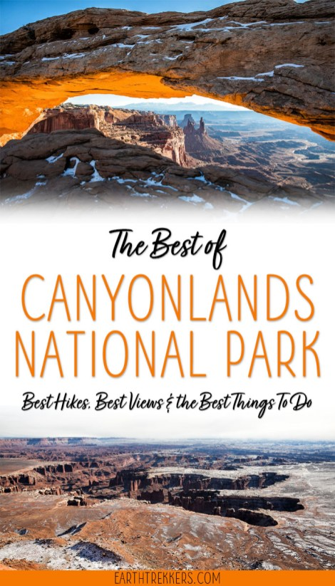 Canyonlands National Park Bucket List