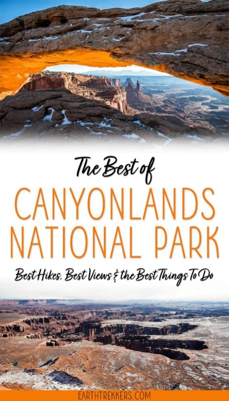 Canyonlands National Park Bucket List