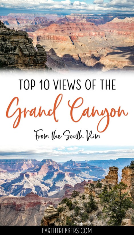 Grand Canyon Best South Rim Views