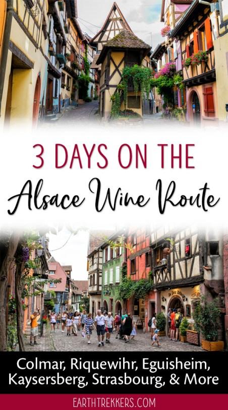 Alsace-Wine-Route-France-Travel-Guide ▷ 3 días en la ruta del vino de Alsacia