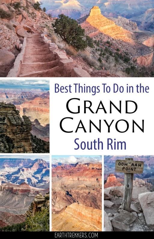 Grand-Canyon-Best-Things-To-Do ▷ Las mejores cosas que hacer en el borde sur del Gran Cañón