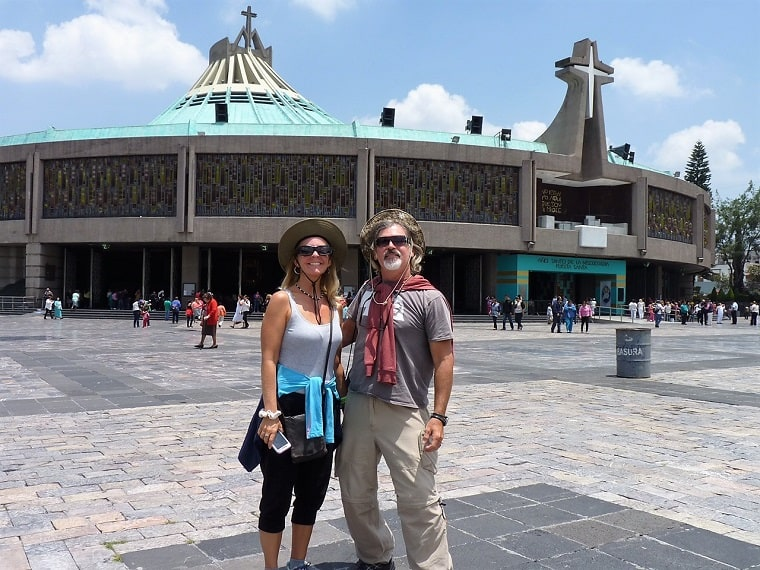 mexico city travel guide: us at our lady of guadalupe church