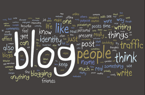 Blogging for a living as a home business