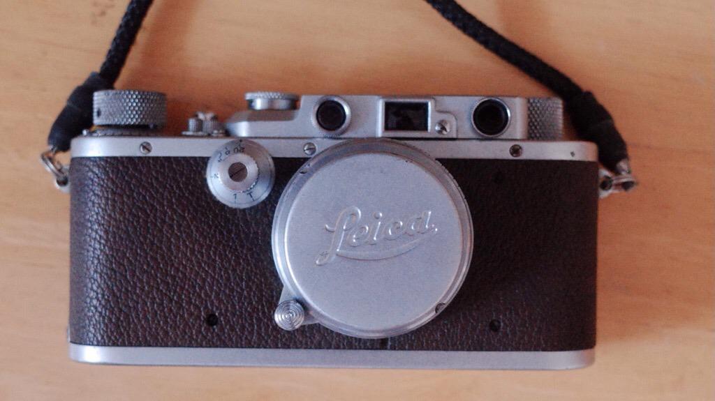 1936年製造のバルナックライカllla、祖父が残したカメラとフイルム