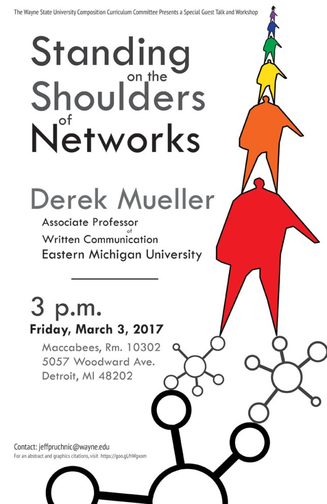 Standing on the Shoulders of Networks Poster