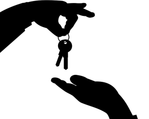 buying a house, house keys