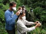 Wearing a Face Mask when Visiting Great Apes