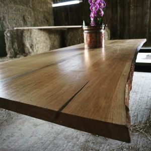 Artistic Dining Table from Earthy Timber