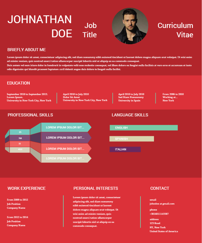 should you write your resume in first person resume
