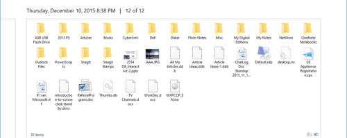 Restore deleted files via File History in windows 10/8.1/8
