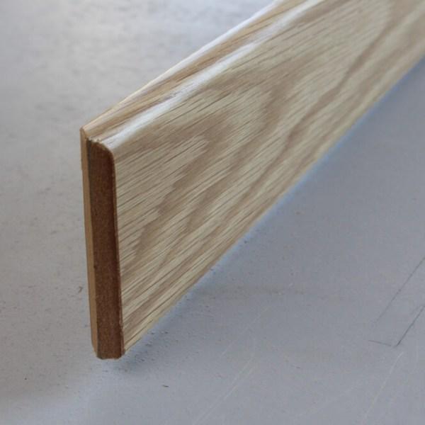plinthe placage chene hauteur 80 mm