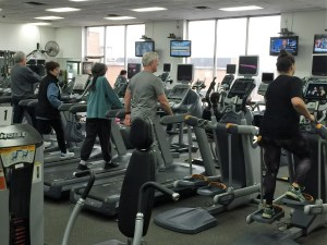 Fitness center - YMCA