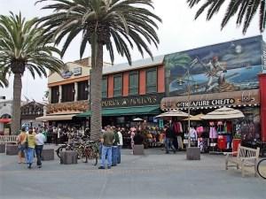 Sharkeez - At Hermosa Beach Plaza (on left)