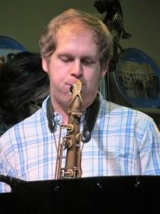 Hunter, Scruffy City Syncopator Saxophonist