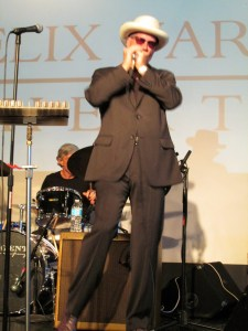 Mark Hummel, Lead singer, blues harpist