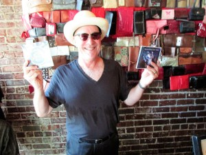 Mark Hummel with CDs