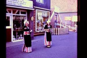Dutch ladies, Marken, Holland