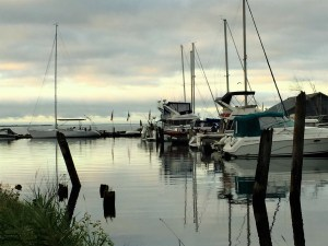 Reiten Boatyard and Lake Superior