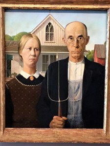 Art Institute of Chicago - American Gothic
