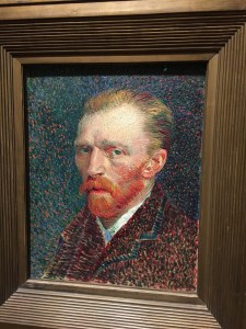 Art Institute of Chicago - Van Gogh - Self Portrait