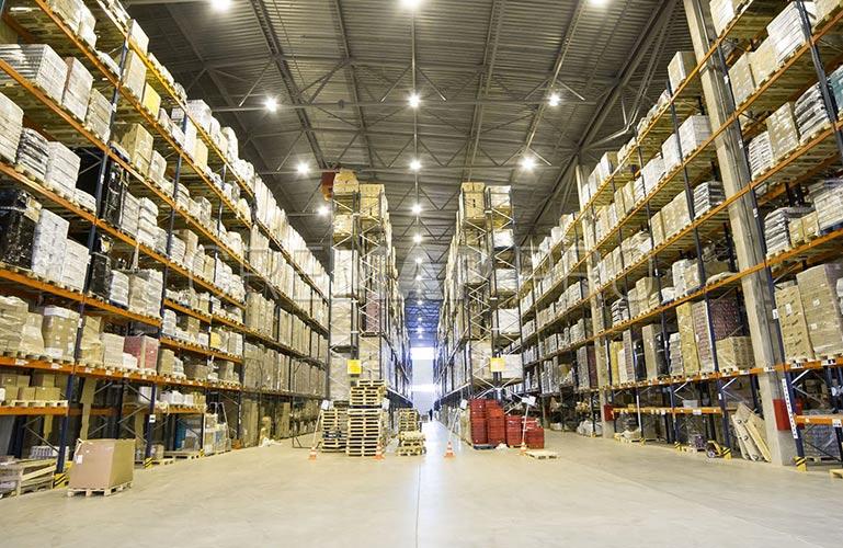 一時保管倉庫は内側からのように見えるもの