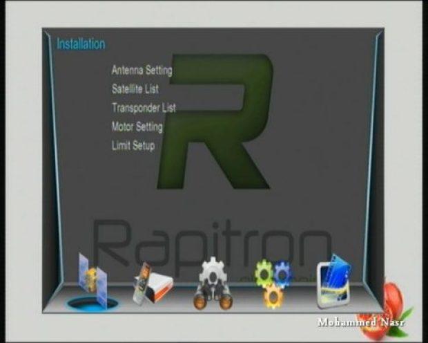 اجهزة المعالج 1506G والاشباه مع سوفت وير تحويل الي جهاز Rapitron بتاريخ 15-12-2016