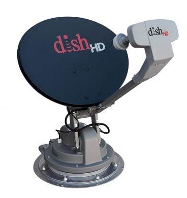 Winegard SK-1000 TRAV'LER RV Satellite TV Antenna for DISH (Stationary, Roof Mount, Multi- Satellite, Multi-TV, Fully Automatic) - DISH HD RV Satellite System for the RV, Motorhome, Camper