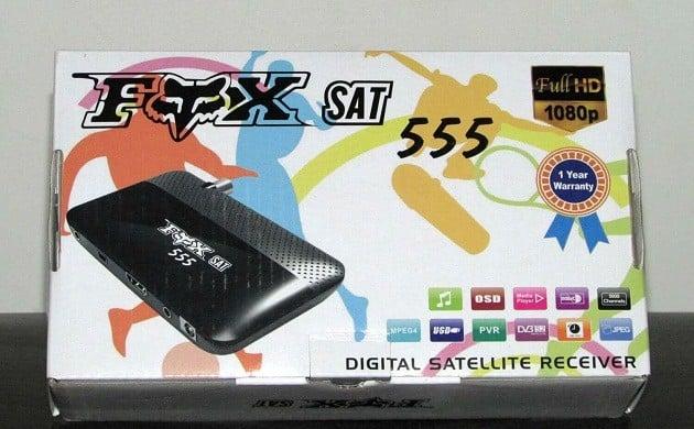 FOX SAT 555 HD سعر ومواصفات ريسيفر فوكس 555 اتش دي ميني