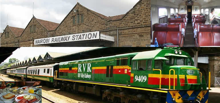 Nairobi - Mombasa  Train Booking  and Online Payment Nairobi Railway Station