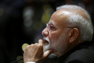 India's Prime Minister Narendra Modi speaks at a summit (Photo: Reuters/Athit Perawongmetha).