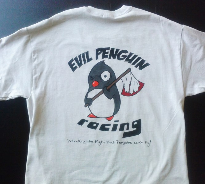 East Bay Screenprint   Custom Shirt Printing Gallery and Projects Blog Evil Penguin