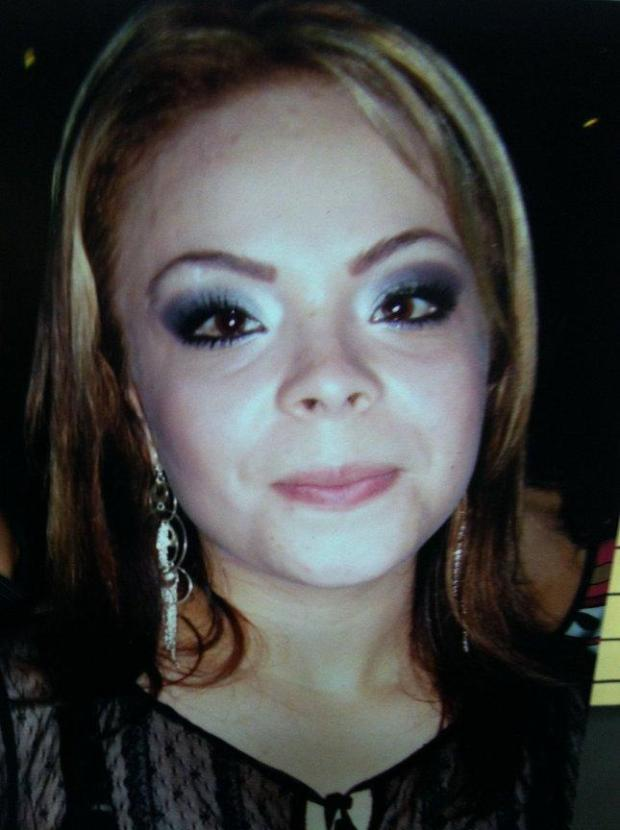 Homicide victim Perla Avina, 30, fatally shot and killed today in what police believe was a road rage incident on 98th Avenue in Oakland, Calif. on Sunday, Oct. 26, 2014. (Oakland Police Department)