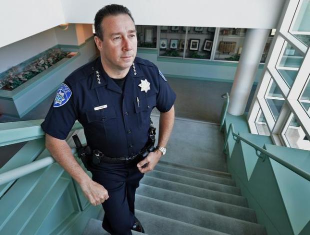Antioch Police Chief Allan Cantando at the Antioch Police Station in Antioch, Calif., on Friday, April 17, 2015. (Dan Rosenstrauch/Bay Area News Group)