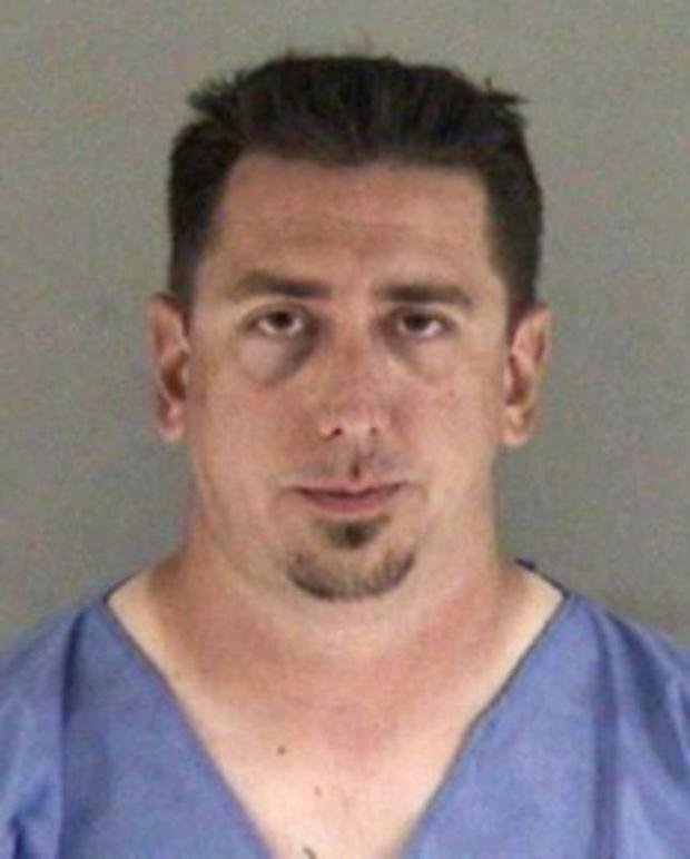 Brian Jones, 35, of Livermore, is suspected of driving under the influence of alcohol and was arrested for suspicion of gross vehicular manslaughter while intoxicated and driving while under the influence of alcohol causing injury on Saturday, May 2, 2015. Jones was driving a vehicle on Murrieta Boulevard in Livermore, Calif., and struck four people, killing a 40-year-old woman her 14-month-old daughter. Two boys, ages 6 and 7, were taken to a hospital for treatment of their injuries. (Livermore Police Department)