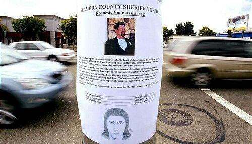 阿拉米达县警长寻求海沃德的冷案杀人提示