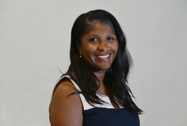 Monica Wilson, candidate for Antioch City Council, is photographed in Antioch, Calif., on Monday, Sept. 26, 2016. (Kristopher Skinner/Bay Area News Group)