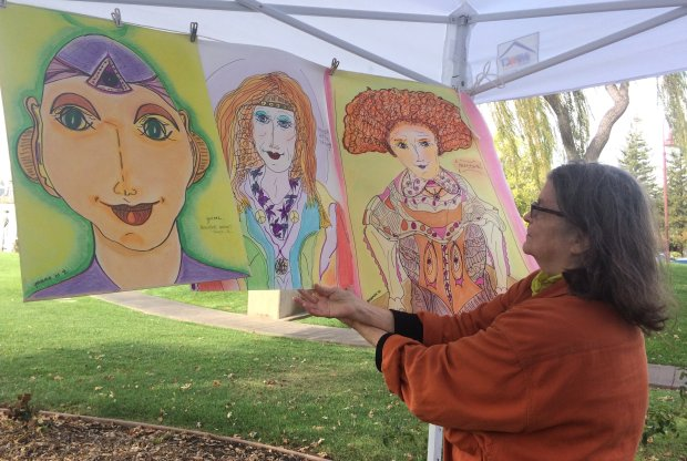 Bonne Germain is showing some of her works at the East Bay Artists Guild's A Fall Fine Arts Fair on Oct. 29, at the Pleasant Hill Senior Center.