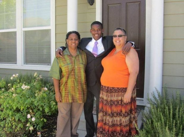 Courtesy Michael Campbell — Pictured are left to right, Patricia Wright, Benny Diambu-Wright, and Charlotte Reed. The threesome were found stabbed and shot to death at their Oakland home Nov. 11, 2016. A San Jose woman, Dana Rivers, 61, was arrested shortly thereafter in connection with the triple homicide.