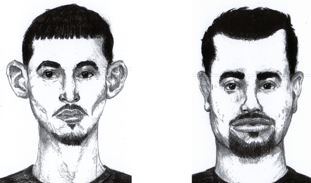 Police released these sketches of suspects in connection with a fatal stabbing on Cottonwood Avenue on Aug. 14, 2016. (Hayward Police Department)