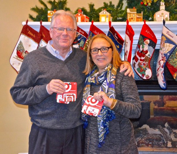 Alamo Women's Club members recently filled 89 Christmas stockings with goodies and wrapped gifts for 24 foster children who live in Youth Homes, and for emancipated foster youth still receiving Youth Homes agency services.