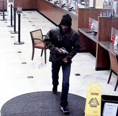Police said an armed gunman held up a Wells Fargo Bank on University Avenue in December. (Berkeley Police Department)