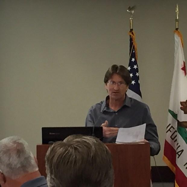 Retired Contra Costa hazardous materials worker Neal Price. (Daniel Borenstein/Bay Area News Group)