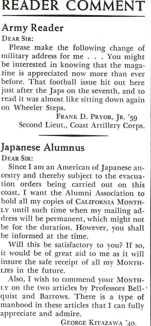 cal monthly 1942