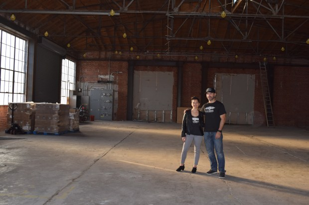 Cielomar and Luis Castro are working to make this downtown Martinez space into a brewery.
