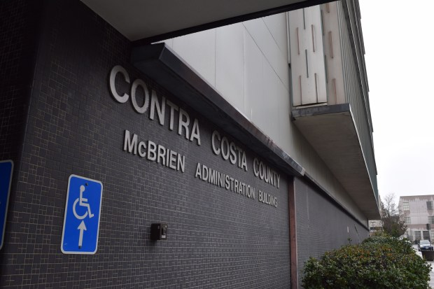 """Contra Costa County's McBrien Admninistration Building (""""651 Pine St.) February 2017"""