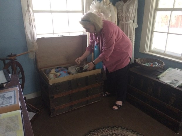 Dana Matthews of Pleasant Hill will portray Grandma Rodgers, former matriarch of Rodgers Ranch, during a presentation on Heritage Day on May 20 at Rodgers Ranch, now a historical center.