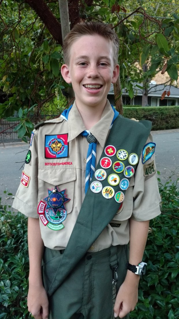 New Troop 405 Eagle Scout John King
