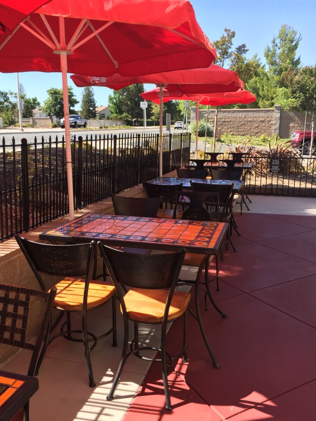 The Medina family didn't wait after a fire demolished their restaurant in April. They worked every day to make refurbishments and improvements, and the newly remade patio was a source of pride as they reopened on Tuesday. (Provided photo)