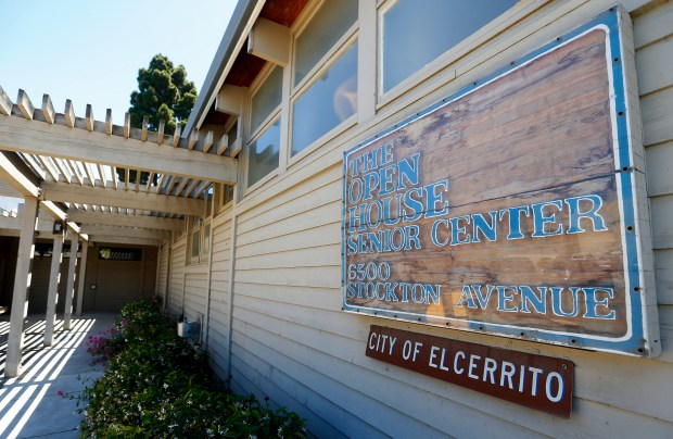 The front entrance of the Open House Senior Center is photographed on Thursday, June 15, 2017, in El Cerrito, Calif. The senior center is facing possible relocation from its current location at 6500 Stockton Avenue. (Aric Crabb/Bay Area News Group)